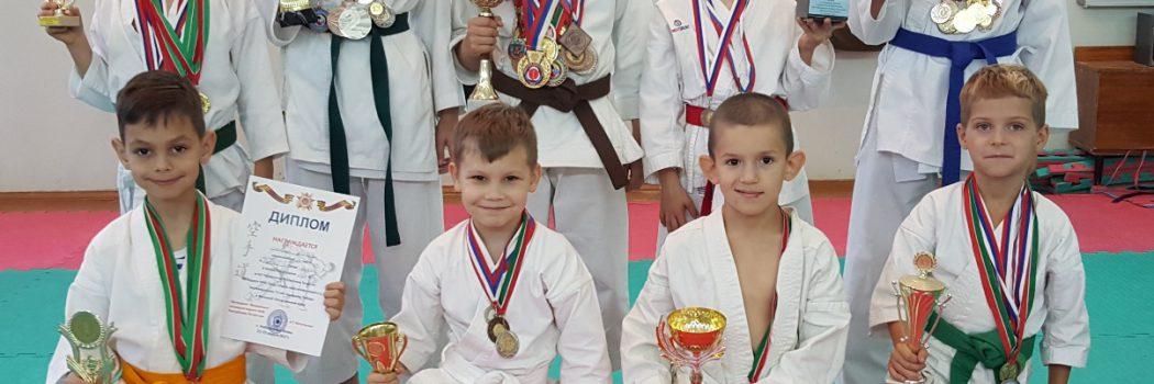 Команда каратистов 2018
